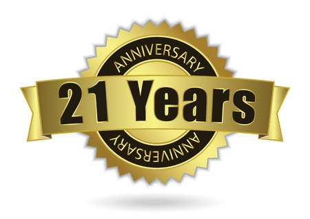 Celebrating 21 years of web design, development and blogging