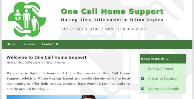 One Call Home Support
