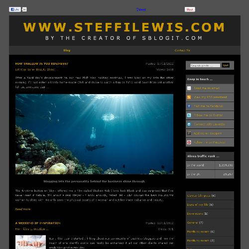 WWW.STEFFILEWIS.COM