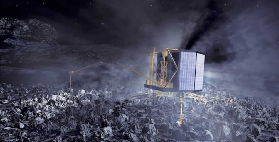 Getting the Rosetta spacecraft into orbit around a comet will be an amazing achievement, but landing Philae on it will be the icing on the cake!