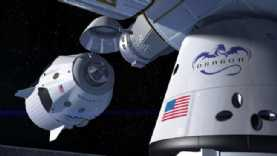 SpaceX have been testing the Crew Dragon capsule ready for manned space flight in 2019!