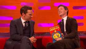 Eddie Redmayne appears on The Graham Norton Show