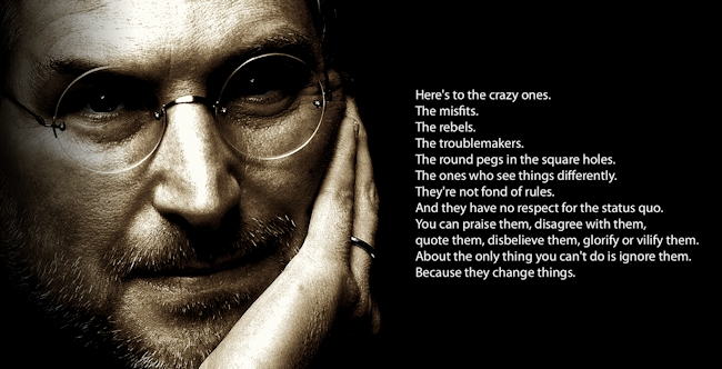 It would have been Steve Jobs' birthday on the 24th February.